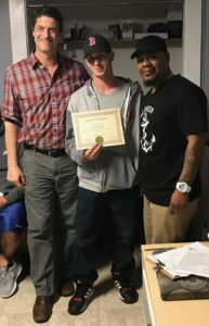 Graduates from the Dads in Recovery Program