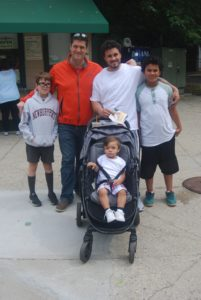 TFP's John Badalament with son, father and family at the zoo