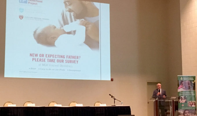 Dr. Levy gives keynote at Consortium Meeting Exploring Fatherhood During the Perinatal Period