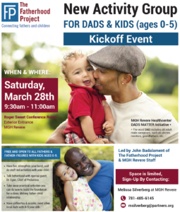 New Group for Dads and Kids at MGH Revere | The Fatherhood Project