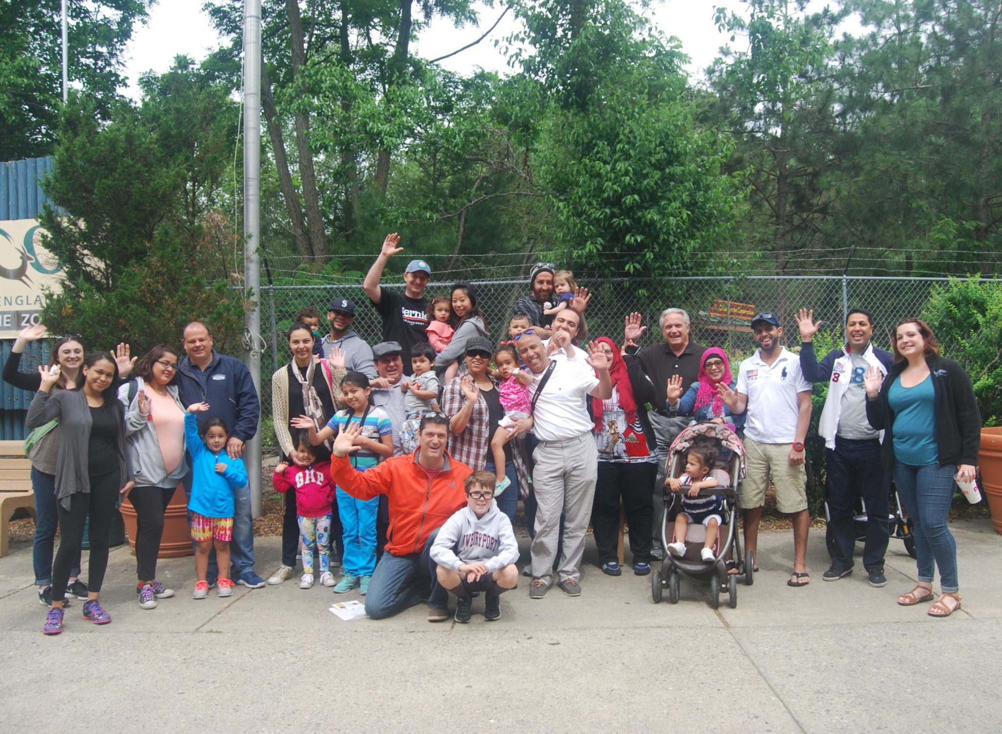TFP Revere Dads and Kids Activity Group at the zoo